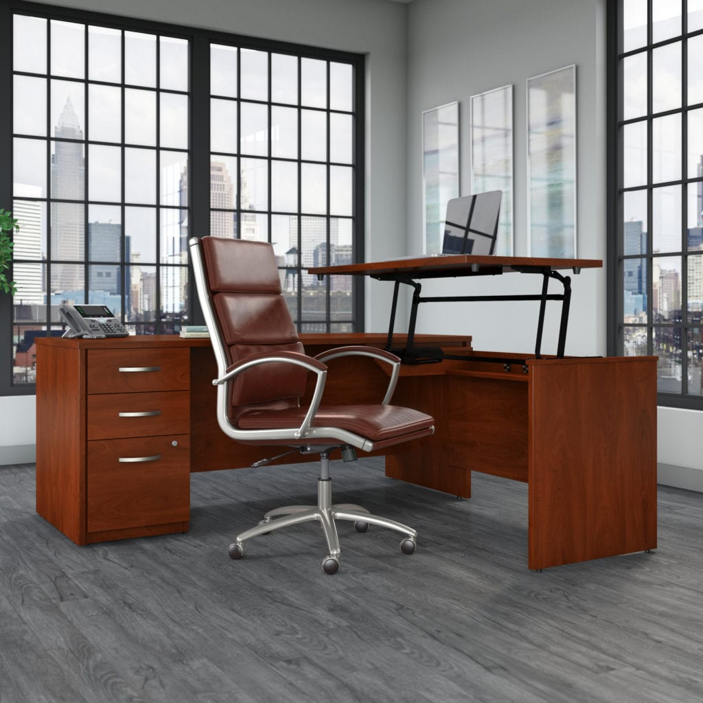 Sit to Stand Height Adjustable Desks Office Furniture