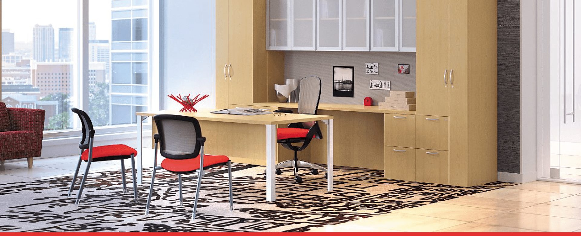 commercial office furniture in office