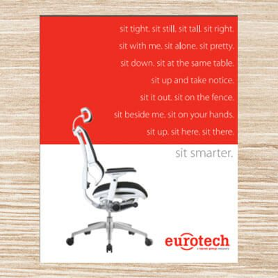 eurotech furniture catalog cover