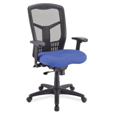 Function, MidBack Chair with Seat Slider and Black Frame