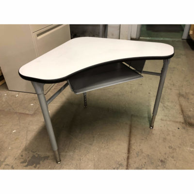 HON Adjustable Height Student Desk with Cubby