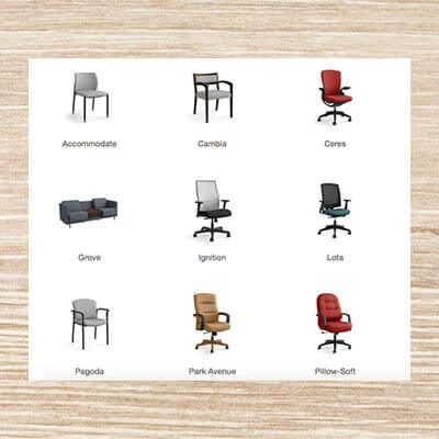 Chairbuilder by Hon
