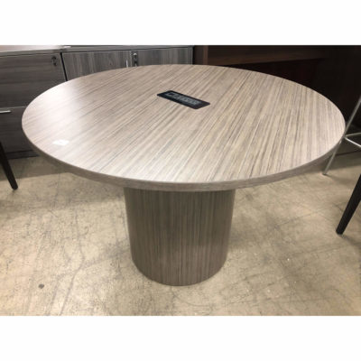 Round Conference Table With Power & Data