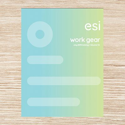 esi blue and green catalog cover