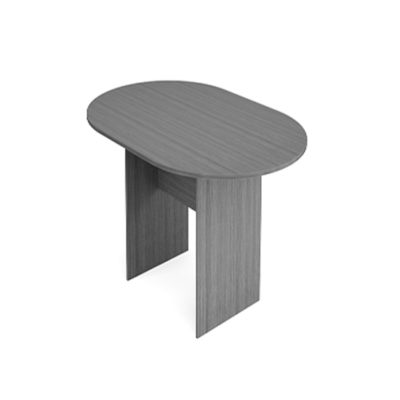 Racetrack Conference Table in Gray