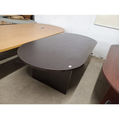 8ft-Espresso-Racetrack-Conference-Table