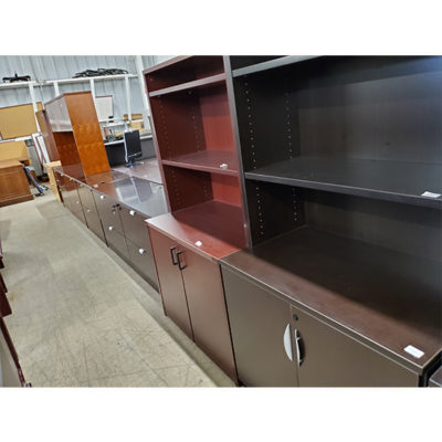 Variety of Cabinets, hutches, file cabinets