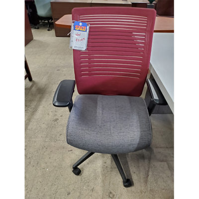 Global Red Back Chair