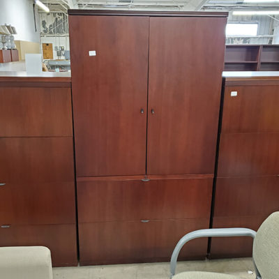 OFS Storage Cabinet with 2 file drawers
