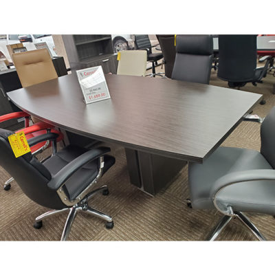 Zira Boat Shaped Conference Table