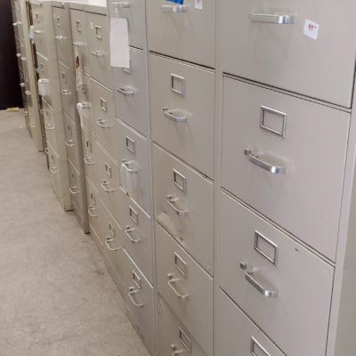 Variety of file cabinets