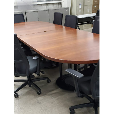 12 foot cherry conference table