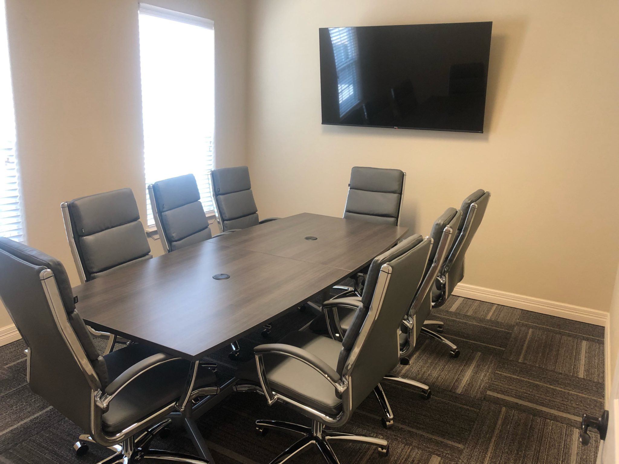 BBF conference table and chairs